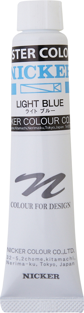POSTER COLOUR 20ml 124 LIGHT BLUE