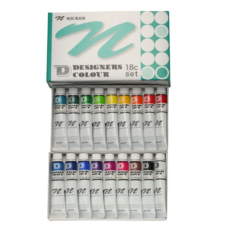 DESIGNERS COLOUR 20ml 18color set