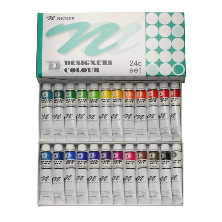 DESIGNERS COLOUR 20ml 24color set