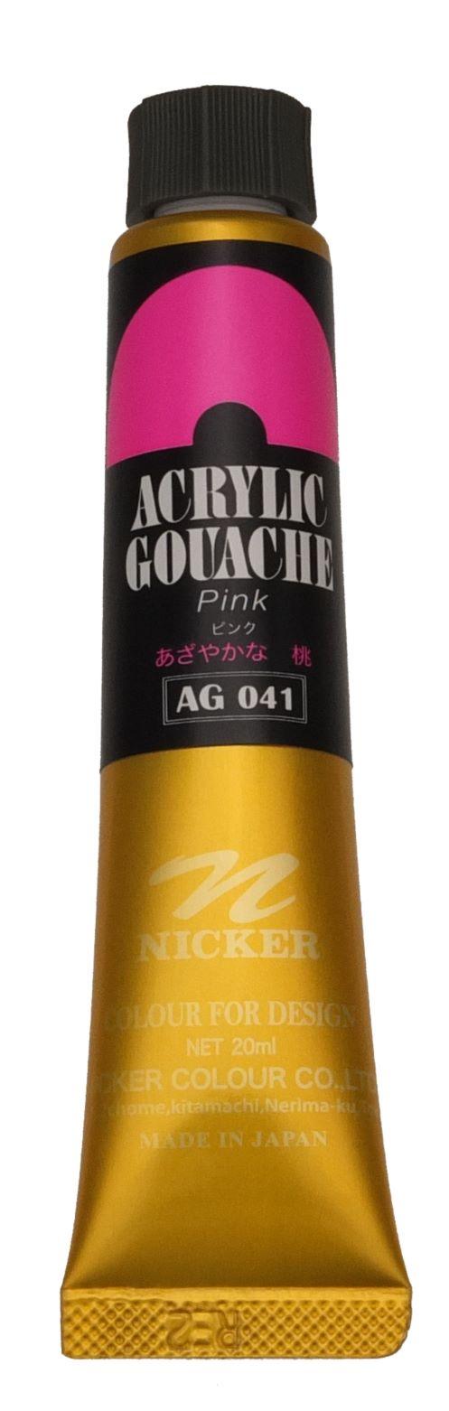 ACRYLIC GOUACHE 20ml AG041 PINK