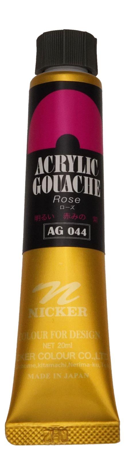 ACRYLIC GOUACHE 20ml AG044 ROSE