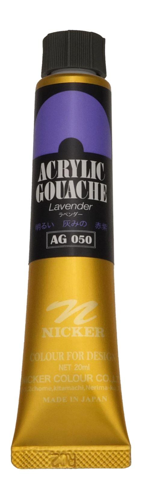 ACRYLIC GOUACHE 20ml AG050 LAVENDER