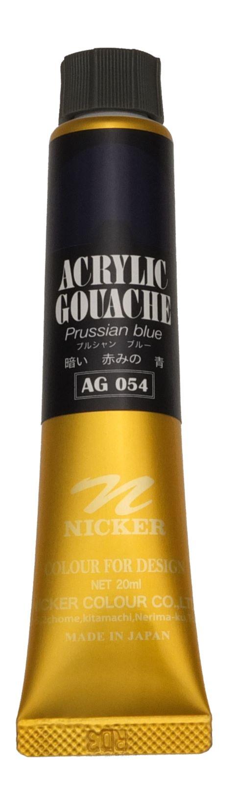 ACRYLIC GOUACHE 20ml AG054 PRUSSIAN BLUE