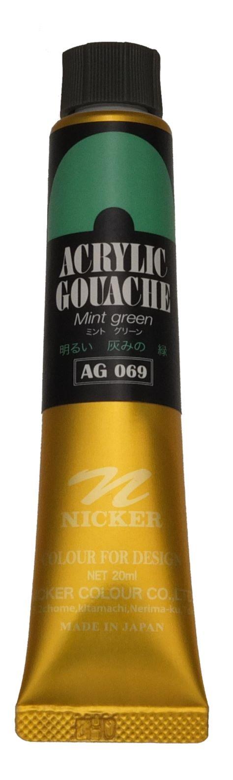 ACRYLIC GOUACHE 20ml AG069 MINT GREEN