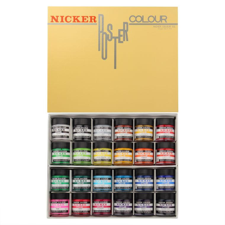 POSTER COLOUR 40ml 24color set
