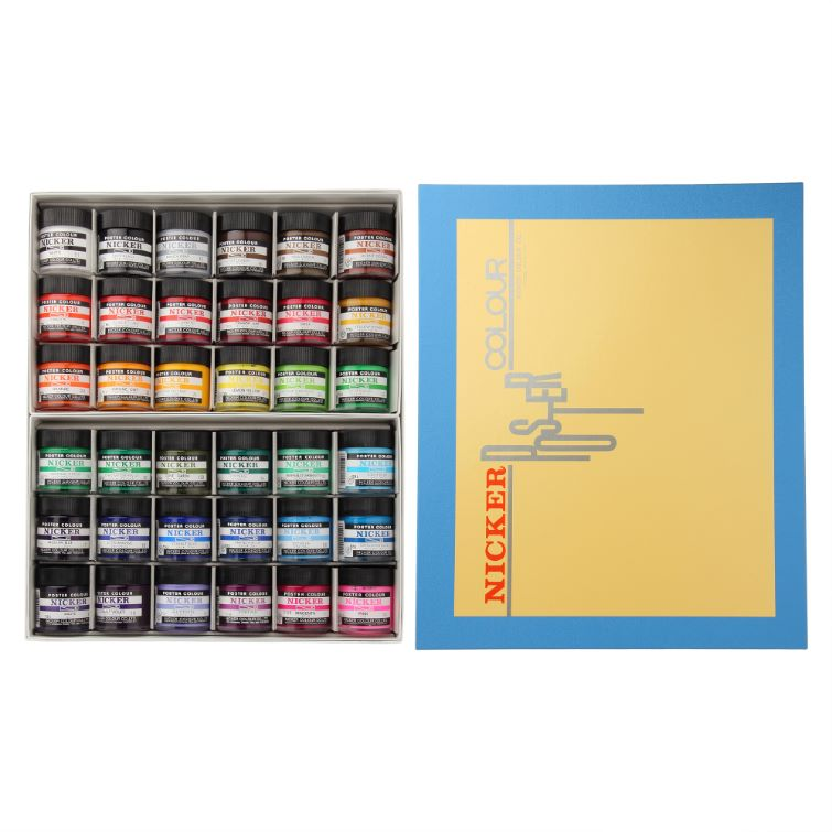 POSTER COLOUR 40ml 36color set