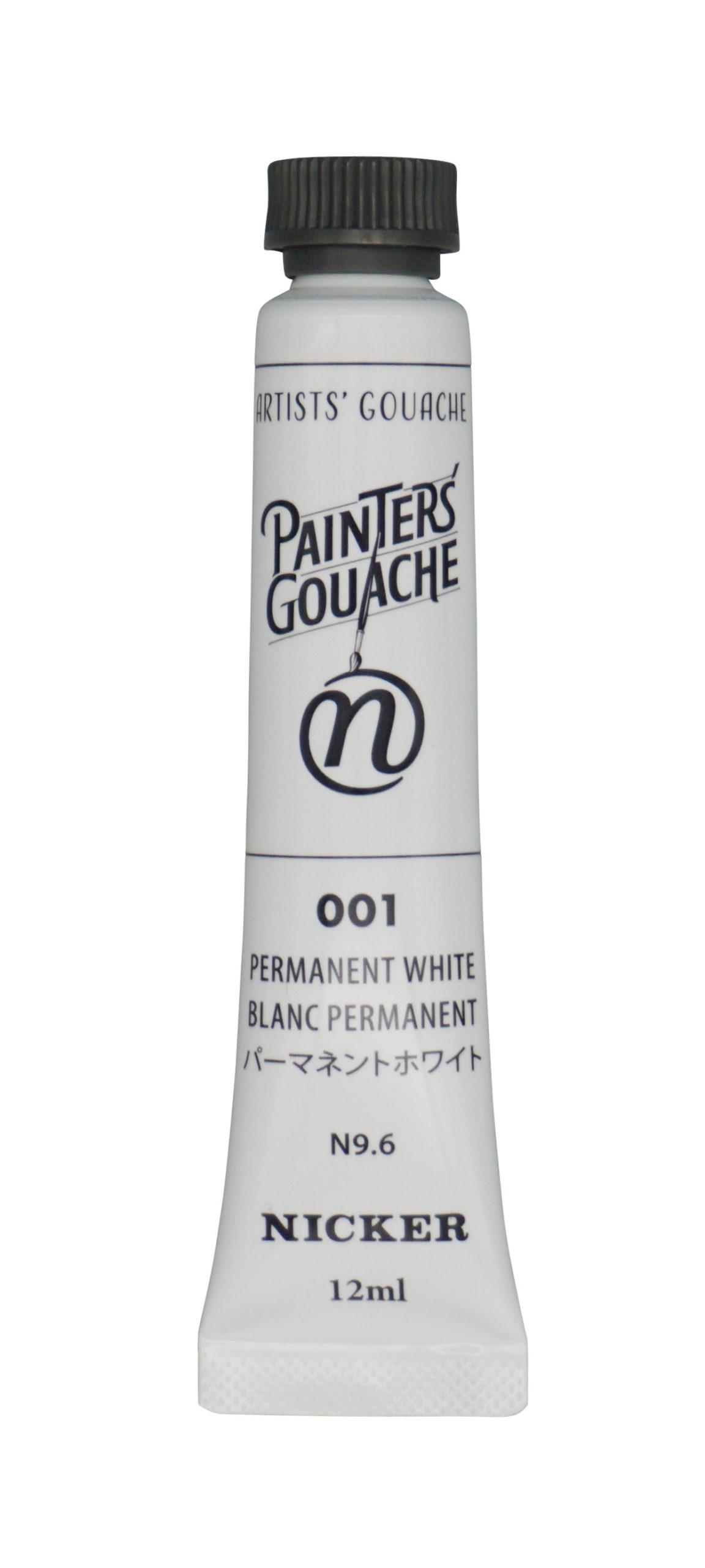 PAINTER'S GOUACHE PERMANENT WHITE